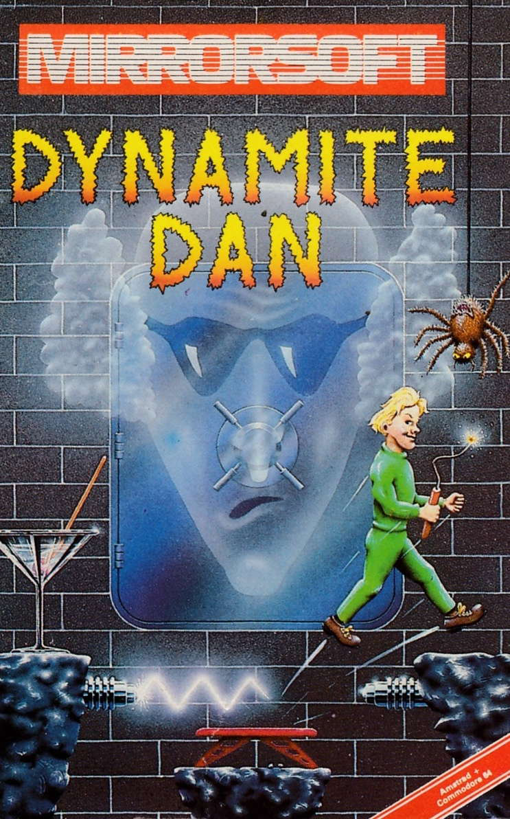 screenshot of the Amstrad CPC game Dynamite dan by GameBase CPC
