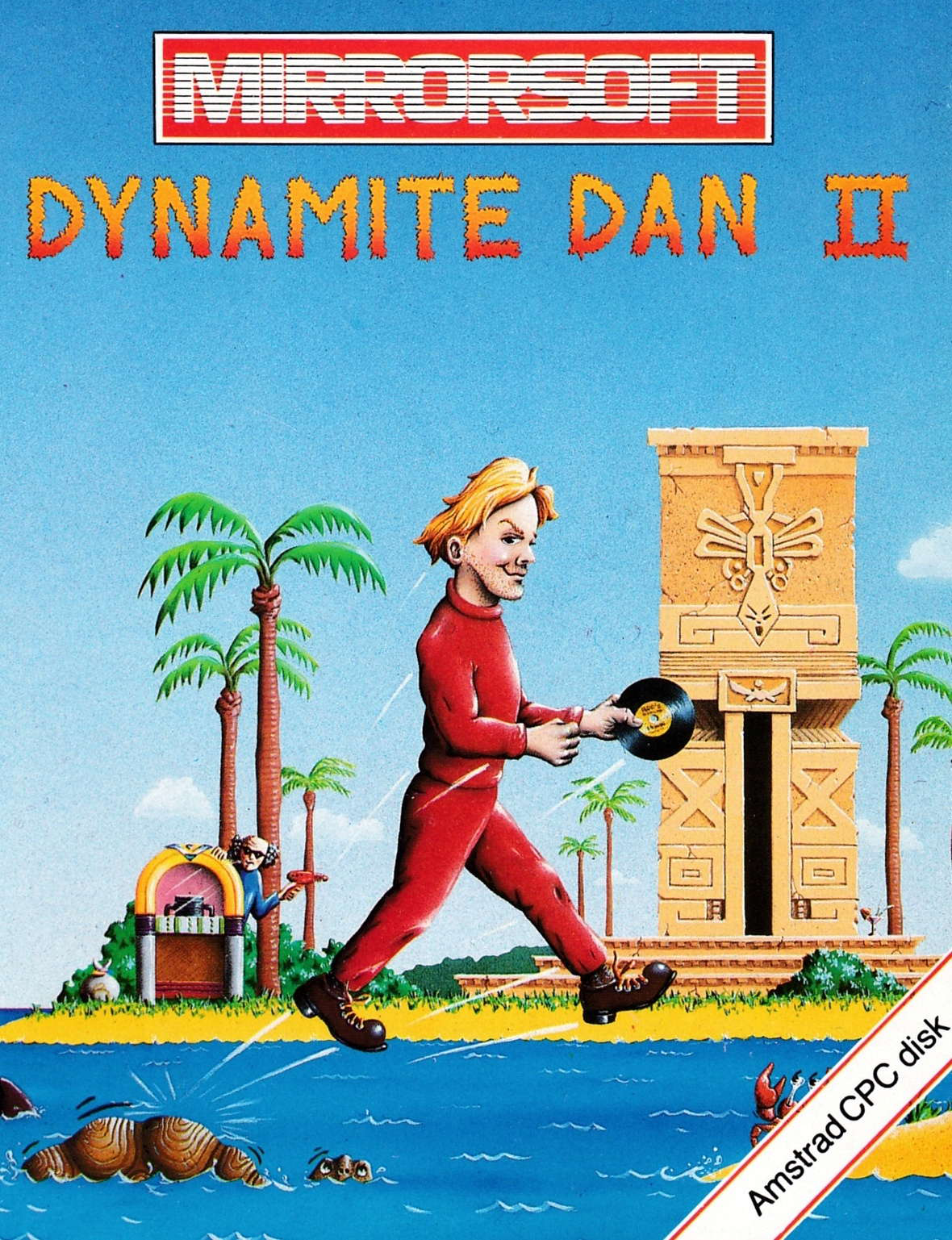 cover of the Amstrad CPC game Dynamite Dan II  by GameBase CPC