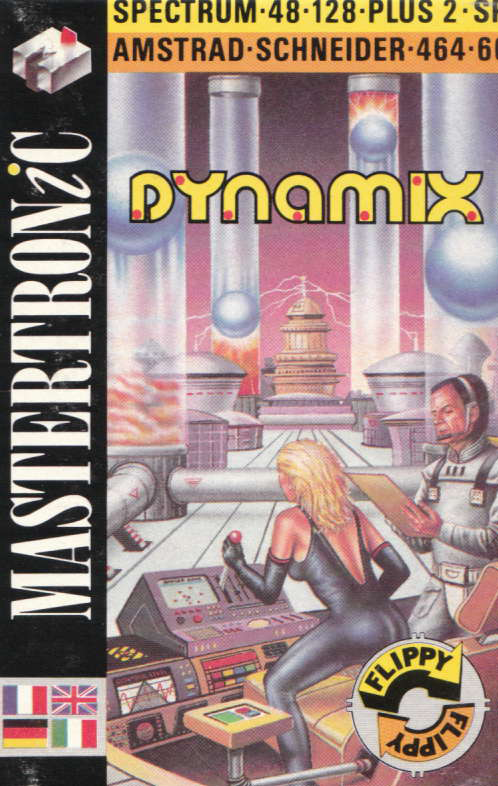 cover of the Amstrad CPC game Dynamix  by GameBase CPC