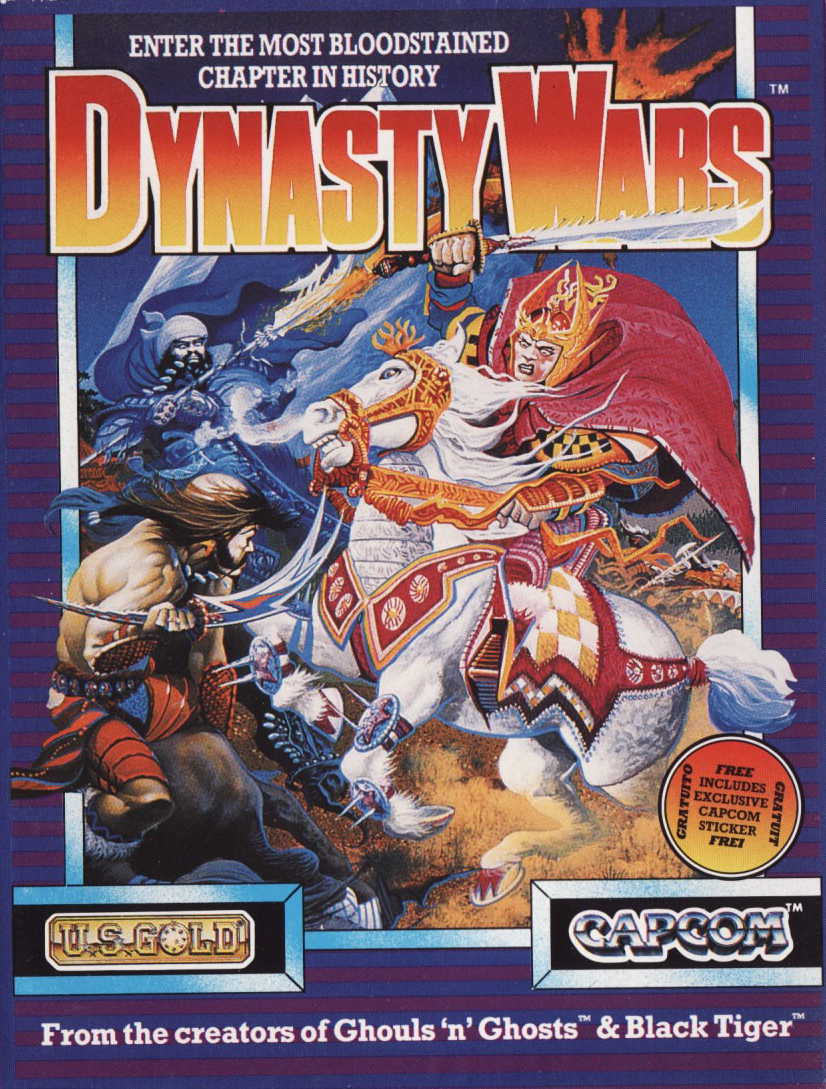 cover of the Amstrad CPC game Dynasty Wars  by GameBase CPC