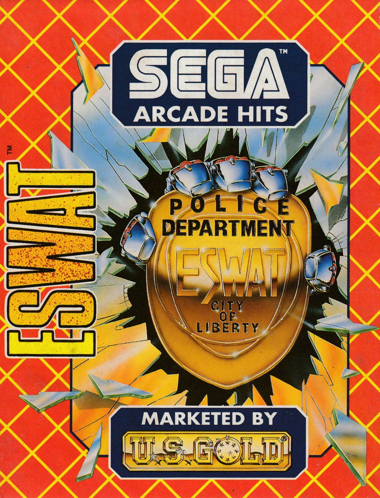 cover of the Amstrad CPC game ESWAT  by GameBase CPC