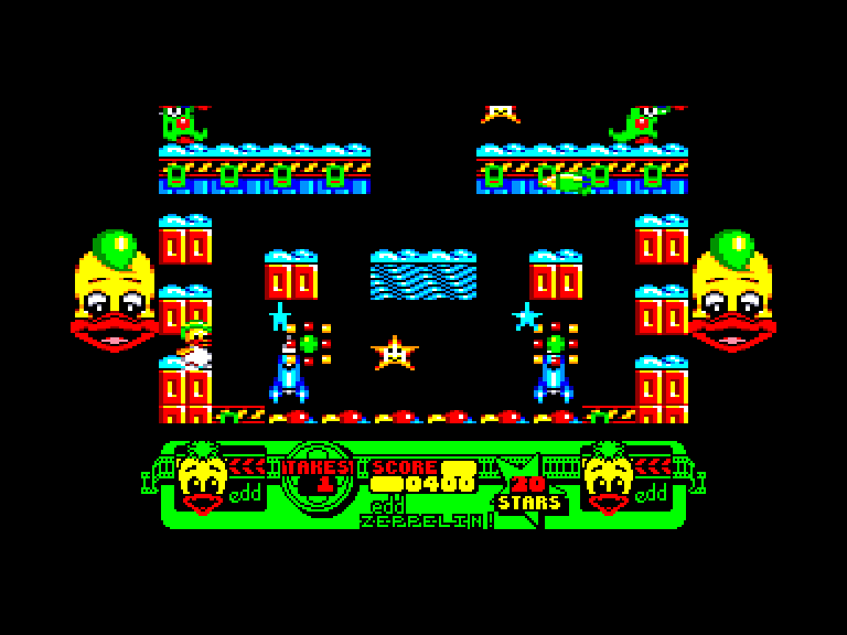screenshot of the Amstrad CPC game Edd the duck by GameBase CPC