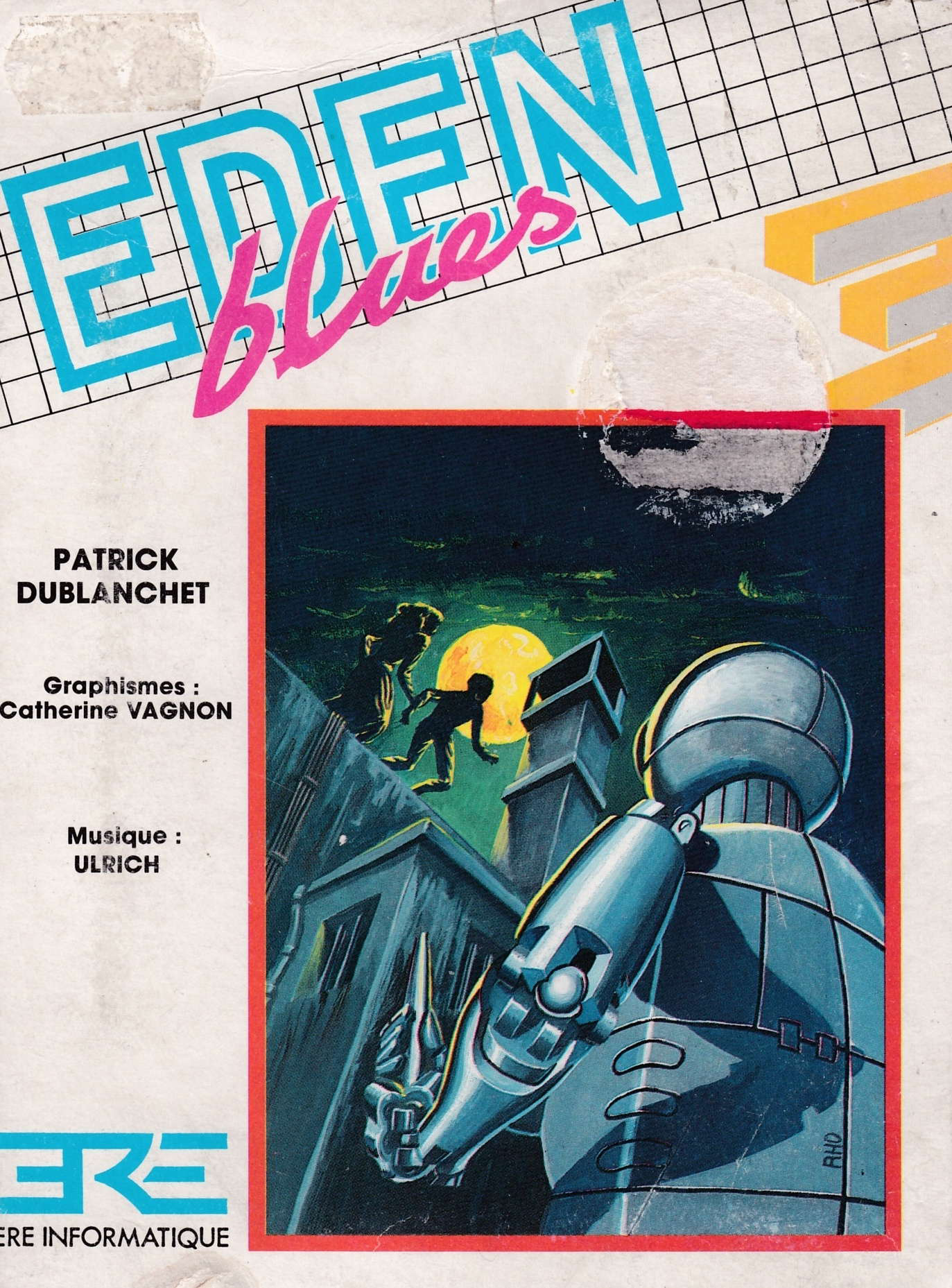 cover of the Amstrad CPC game Eden Blues  by GameBase CPC