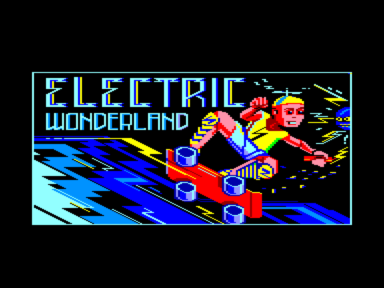 screenshot of the Amstrad CPC game Electric wonderland by GameBase CPC
