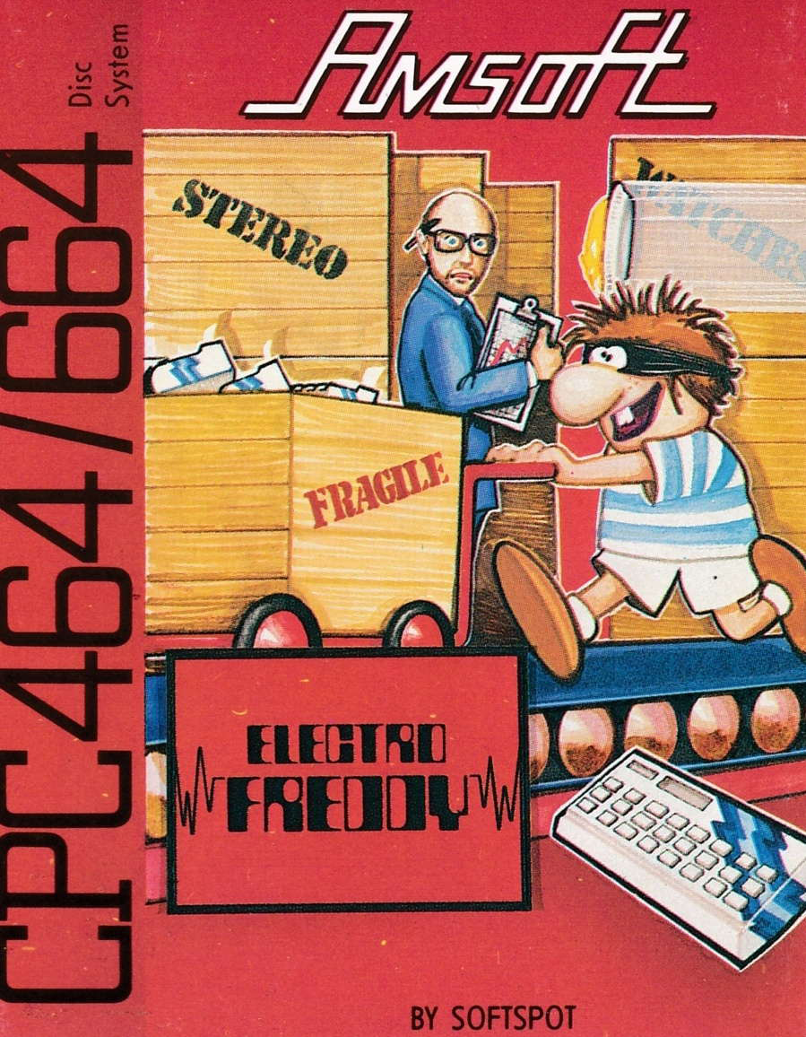 cover of the Amstrad CPC game Electro Freddy  by GameBase CPC