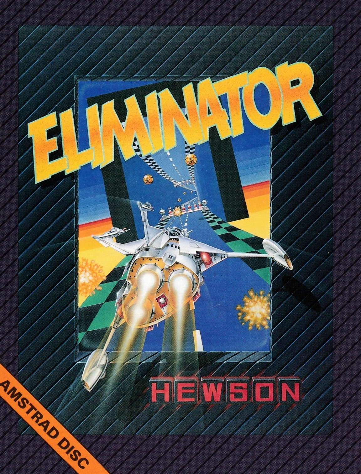 screenshot of the Amstrad CPC game Eliminator by GameBase CPC
