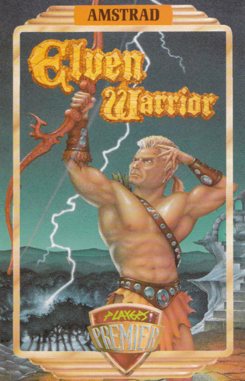 cover of the Amstrad CPC game Elven Warrior  by GameBase CPC