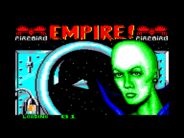 screenshot of the Amstrad CPC game Empire by GameBase CPC