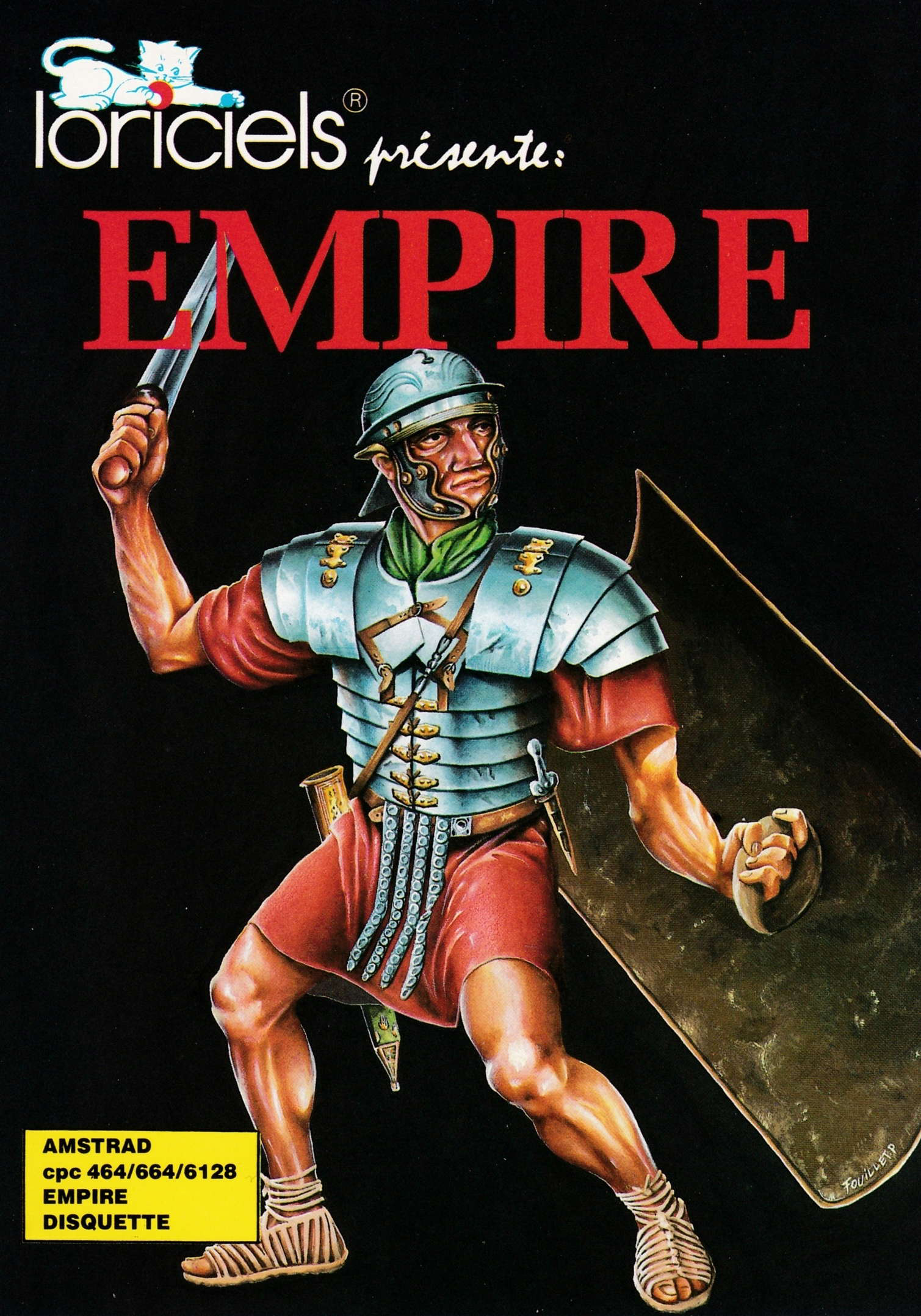 cover of the Amstrad CPC game Empire  by GameBase CPC