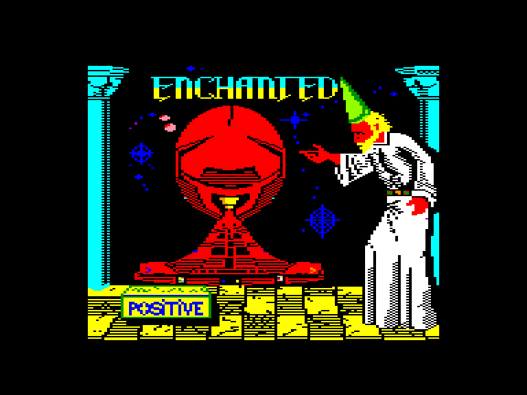 screenshot of the Amstrad CPC game Enchanted by GameBase CPC