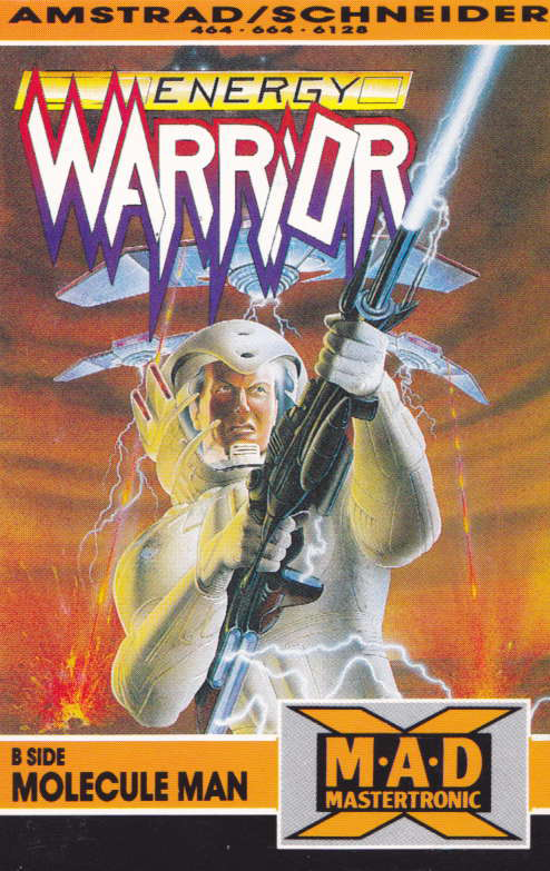 screenshot of the Amstrad CPC game Energy warrior by GameBase CPC