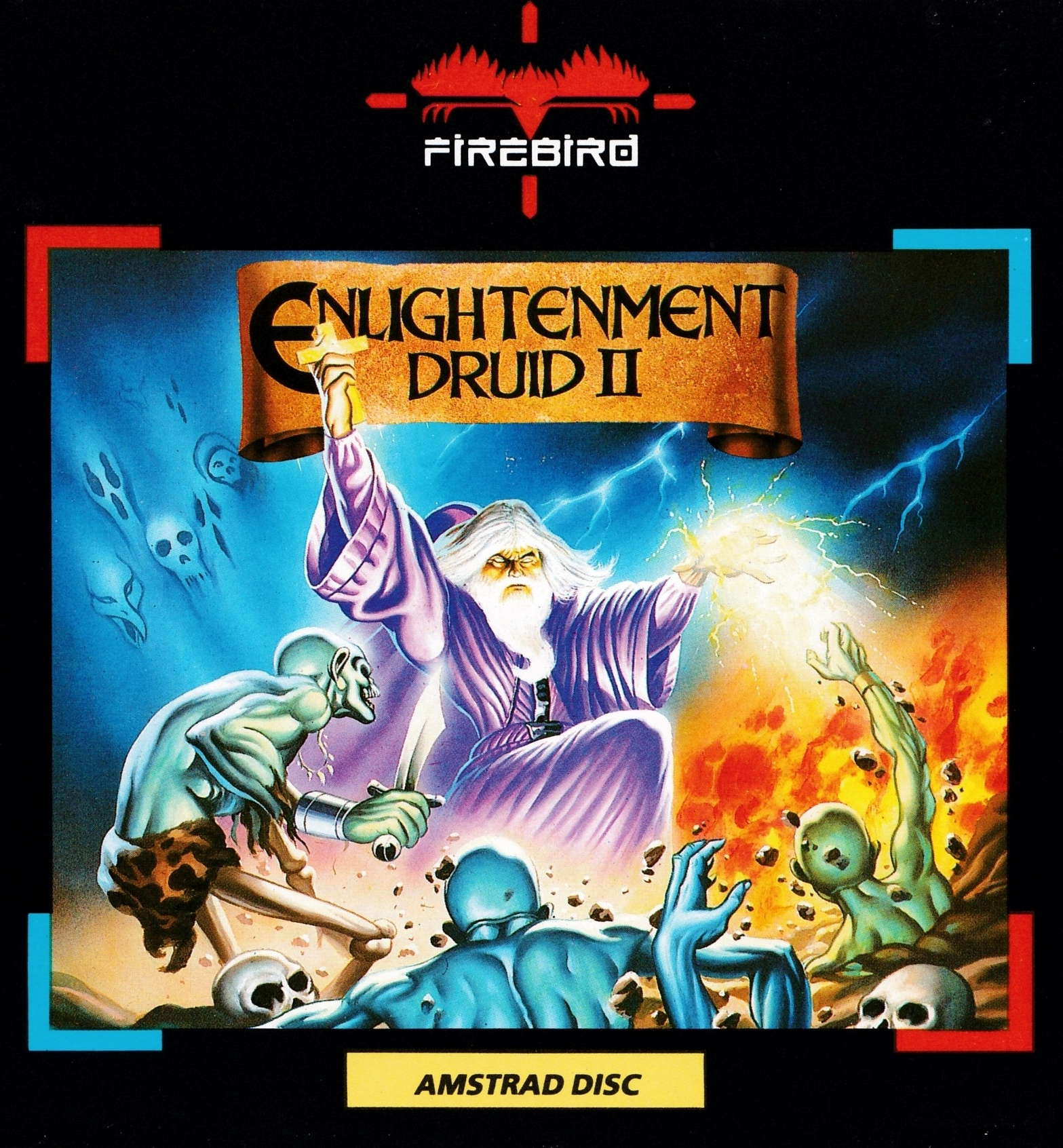 cover of the Amstrad CPC game Enlightenment - Druid II  by GameBase CPC
