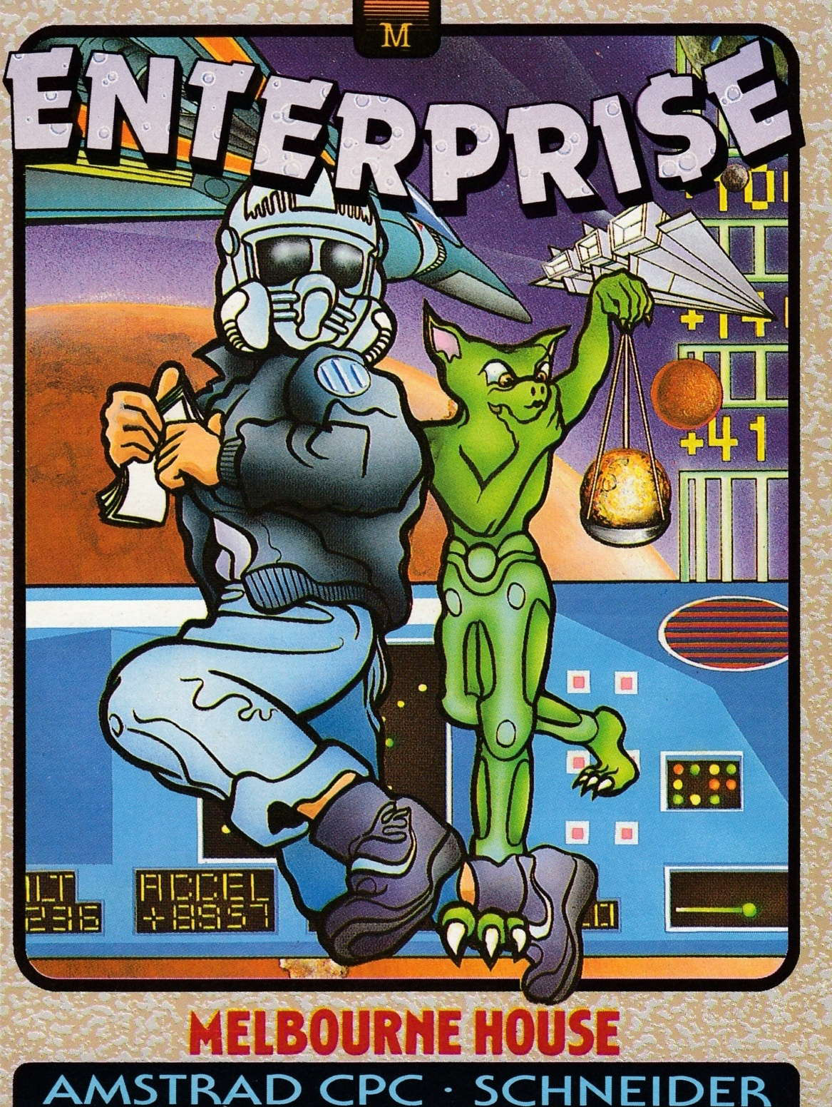 cover of the Amstrad CPC game Enterprise  by GameBase CPC