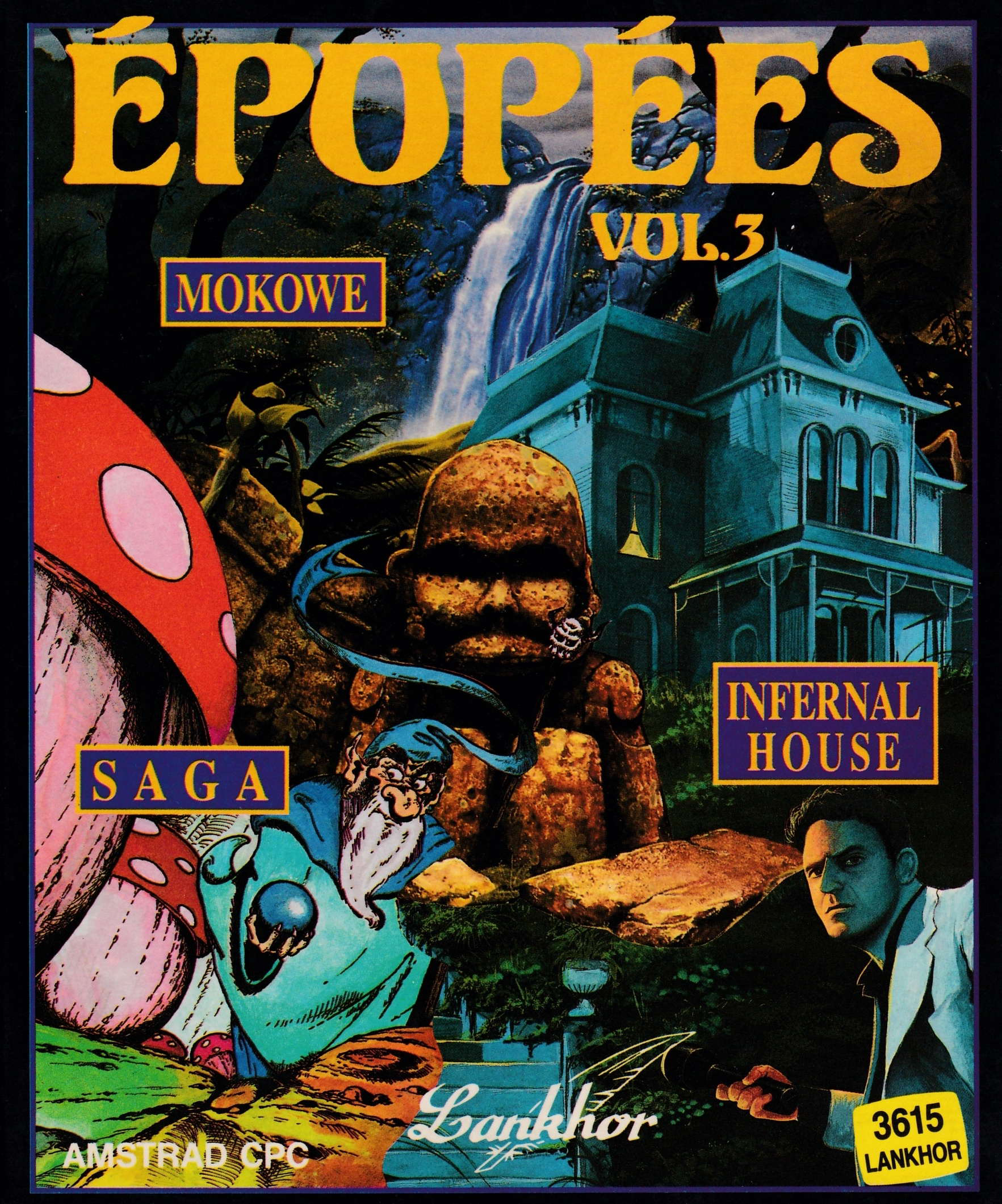 cover of the Amstrad CPC game Epopees Vol. 3  by GameBase CPC