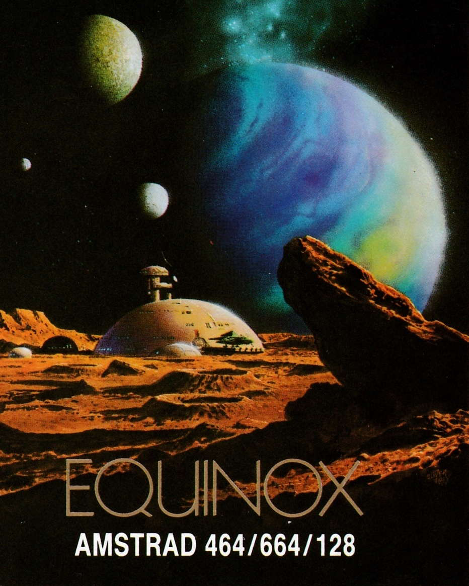 cover of the Amstrad CPC game Equinox  by GameBase CPC