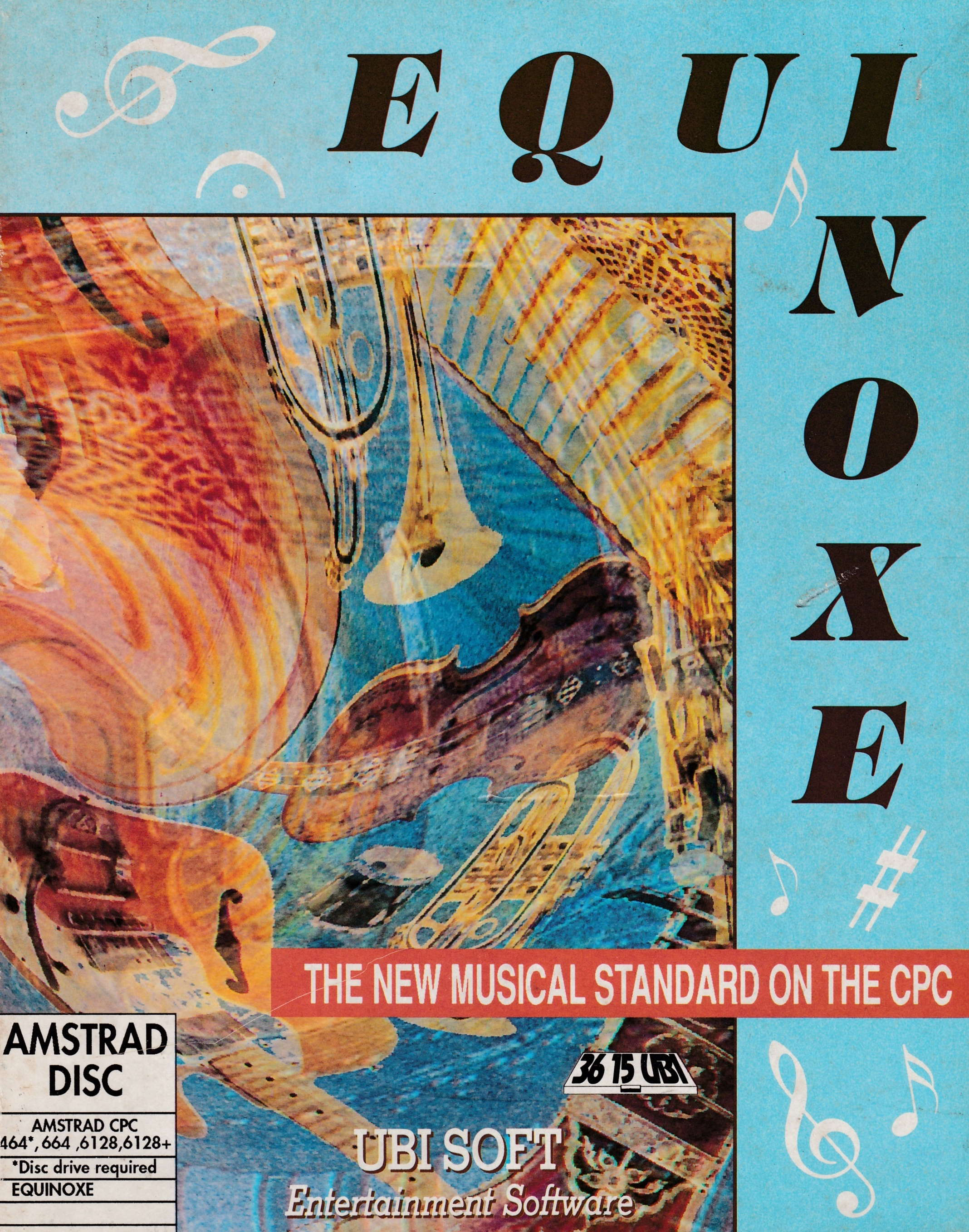 screenshot of the Amstrad CPC game Equinoxe by GameBase CPC