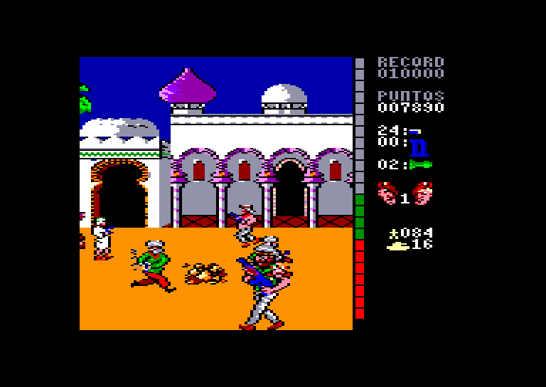 screenshot of the Amstrad CPC game Equipo a by GameBase CPC