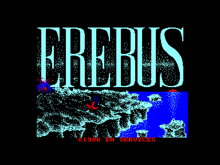 screenshot of the Amstrad CPC game Erebus by GameBase CPC