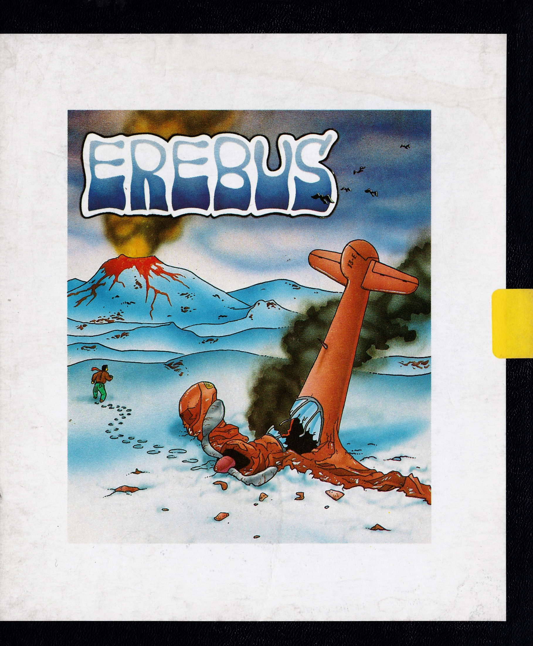 cover of the Amstrad CPC game Erebus  by GameBase CPC