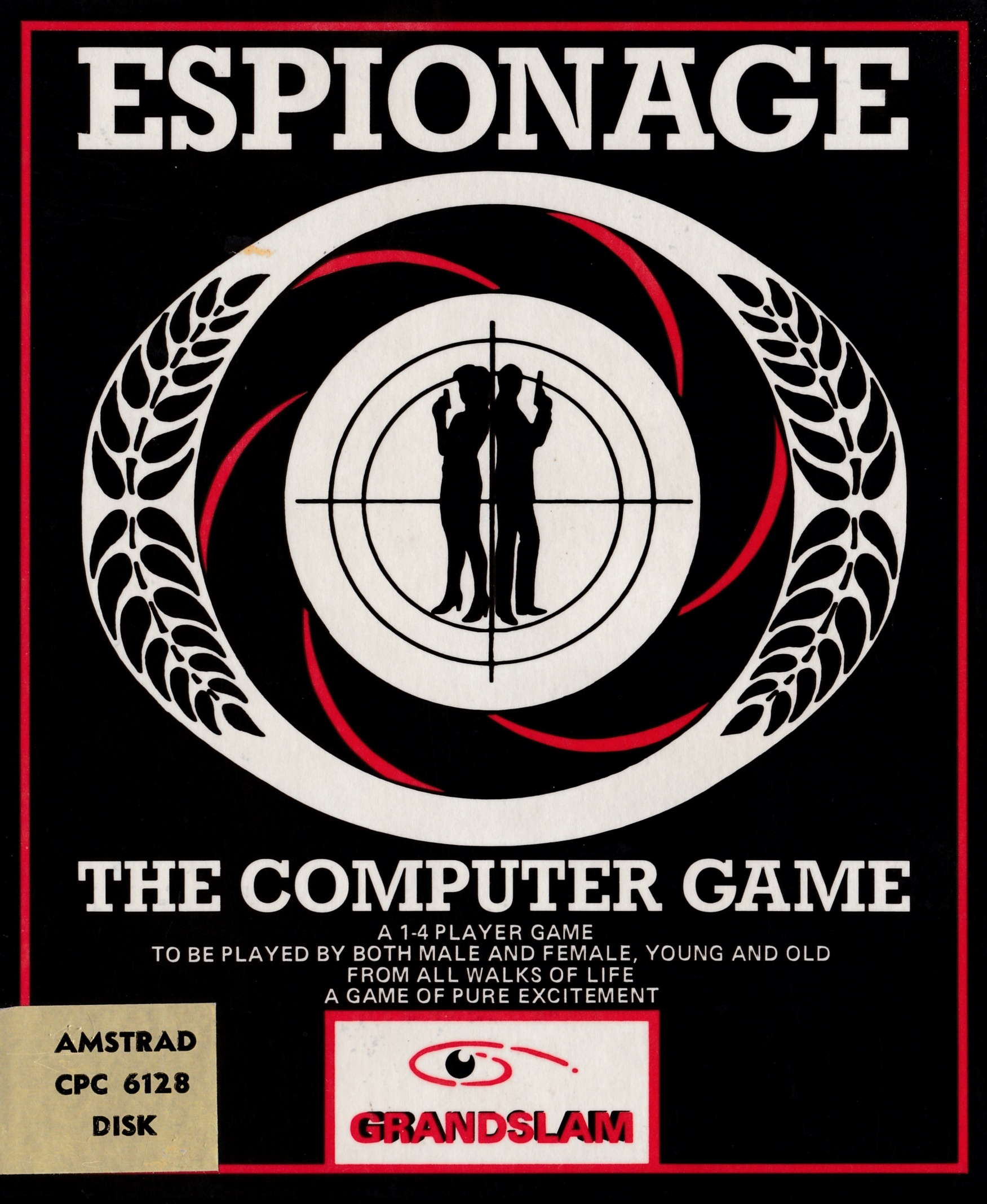 screenshot of the Amstrad CPC game Espionage by GameBase CPC