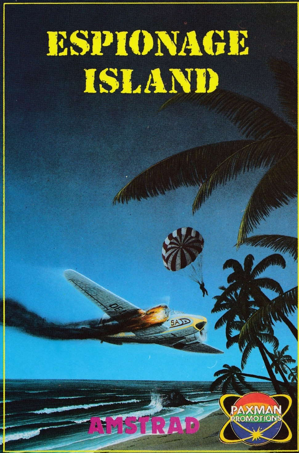 screenshot of the Amstrad CPC game Espionage island adventure d by GameBase CPC