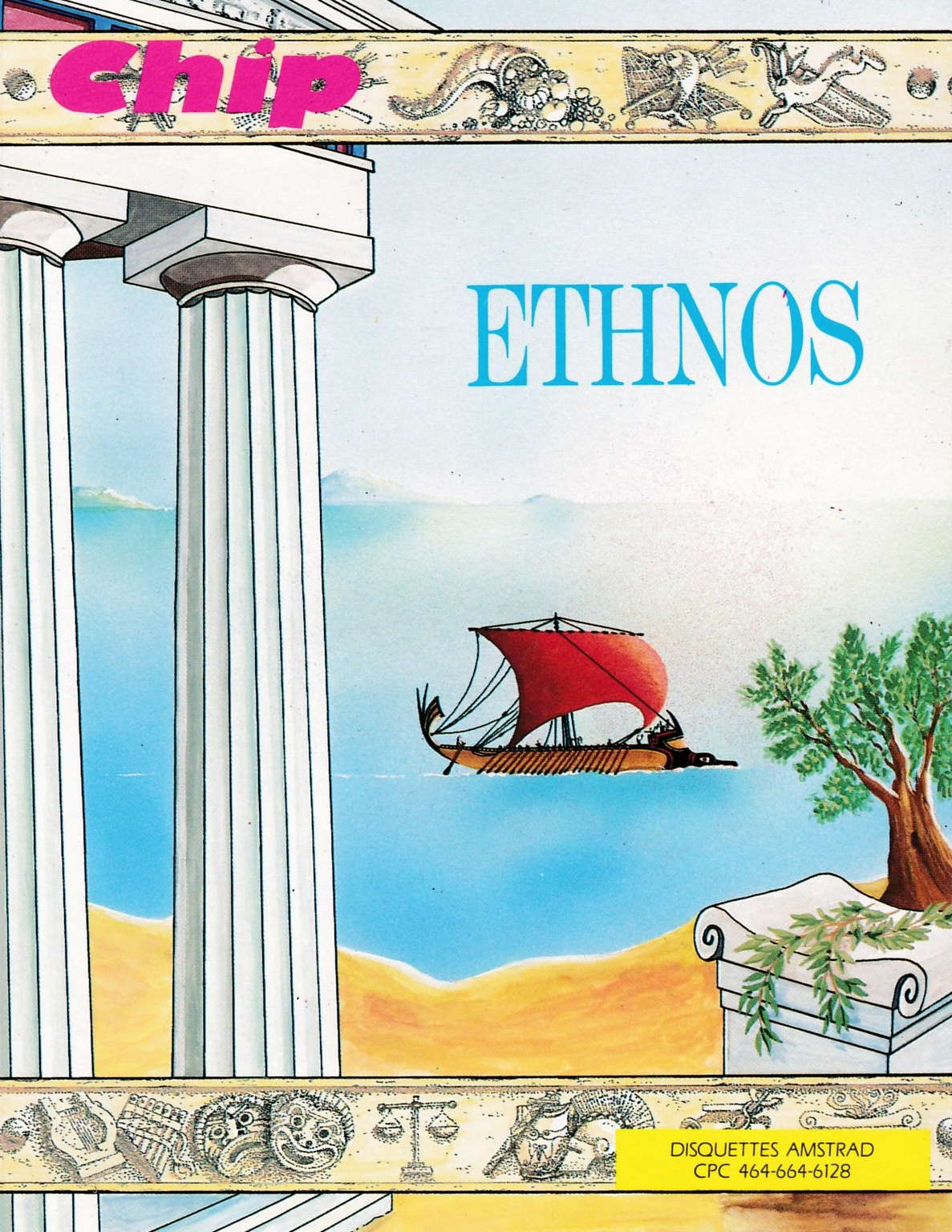 screenshot of the Amstrad CPC game Ethnos by GameBase CPC