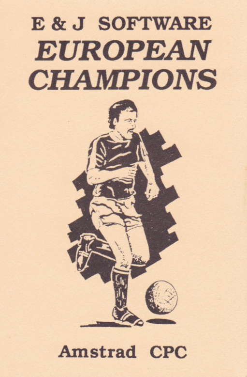 screenshot of the Amstrad CPC game European champions by GameBase CPC
