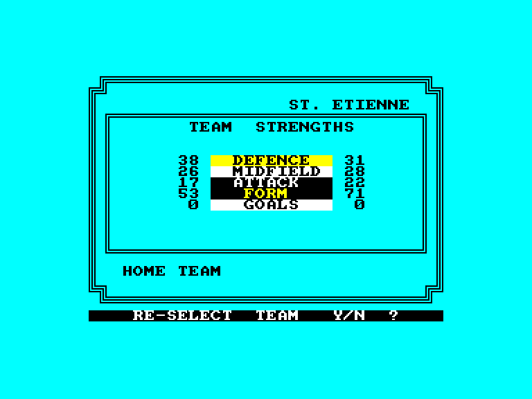 screenshot of the Amstrad CPC game European II by GameBase CPC