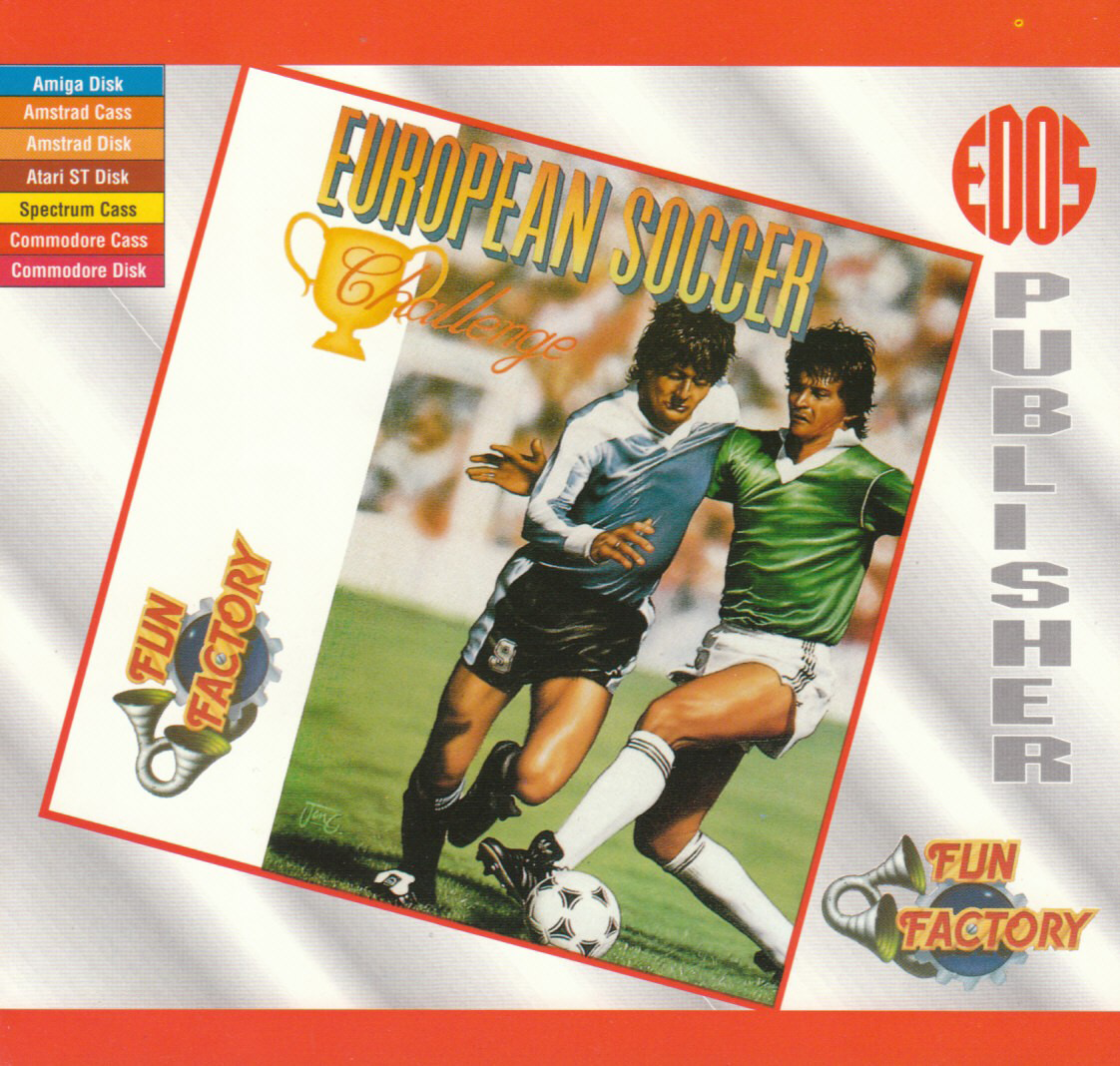 cover of the Amstrad CPC game European Soccer Challenge  by GameBase CPC