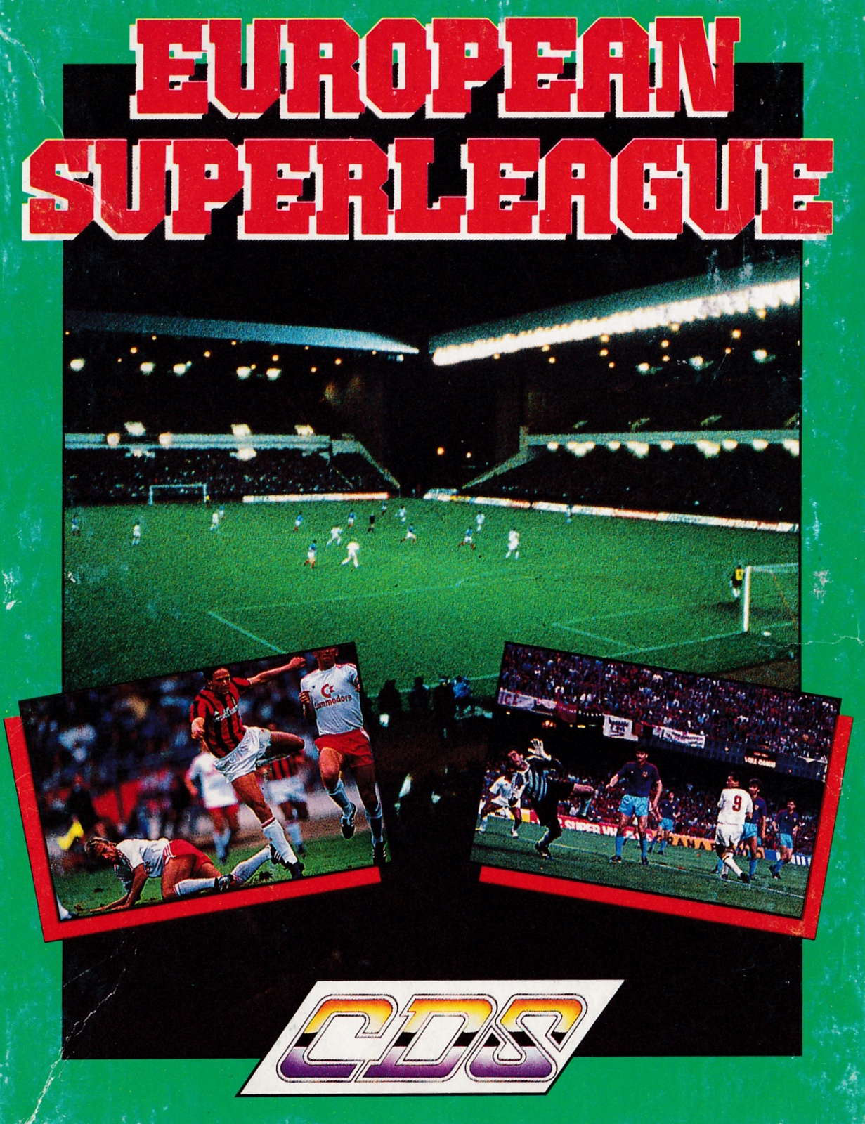 screenshot of the Amstrad CPC game European superleague by GameBase CPC