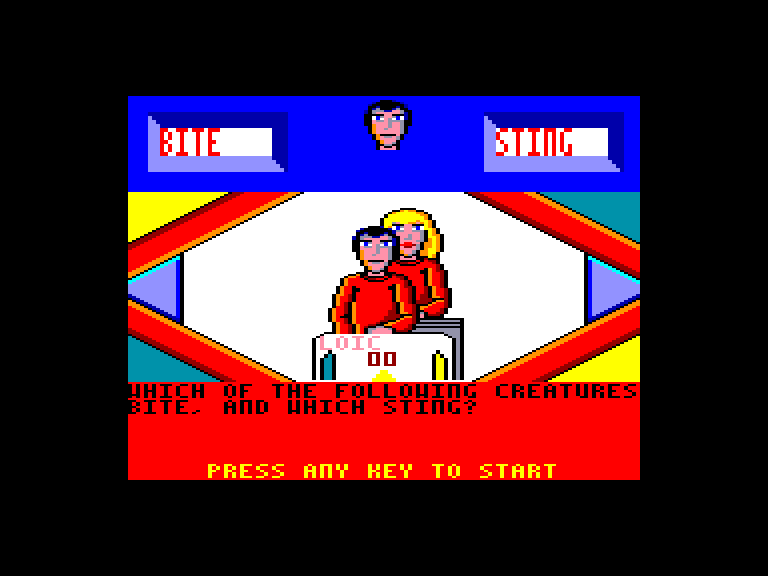 screenshot of the Amstrad CPC game Every second counts by GameBase CPC