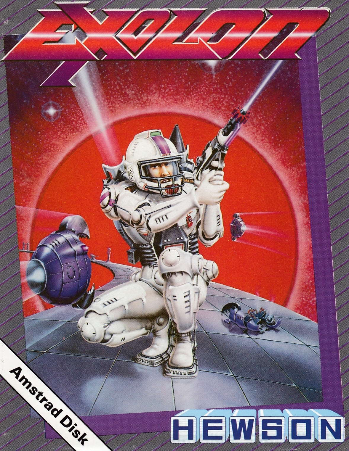 cover of the Amstrad CPC game Exolon  by GameBase CPC