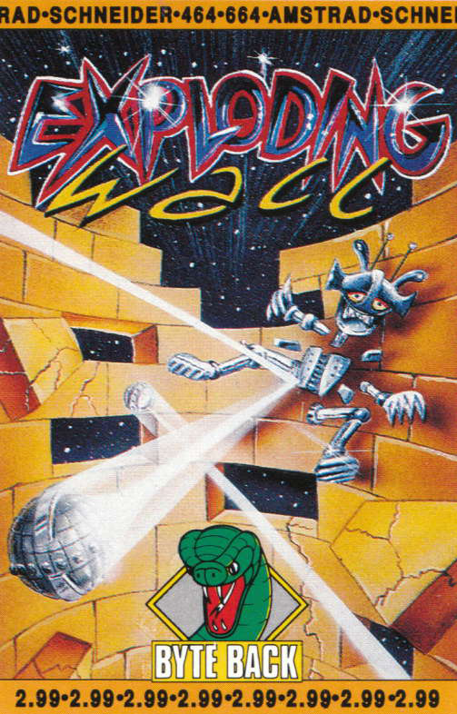 cover of the Amstrad CPC game Exploding Wall  by GameBase CPC