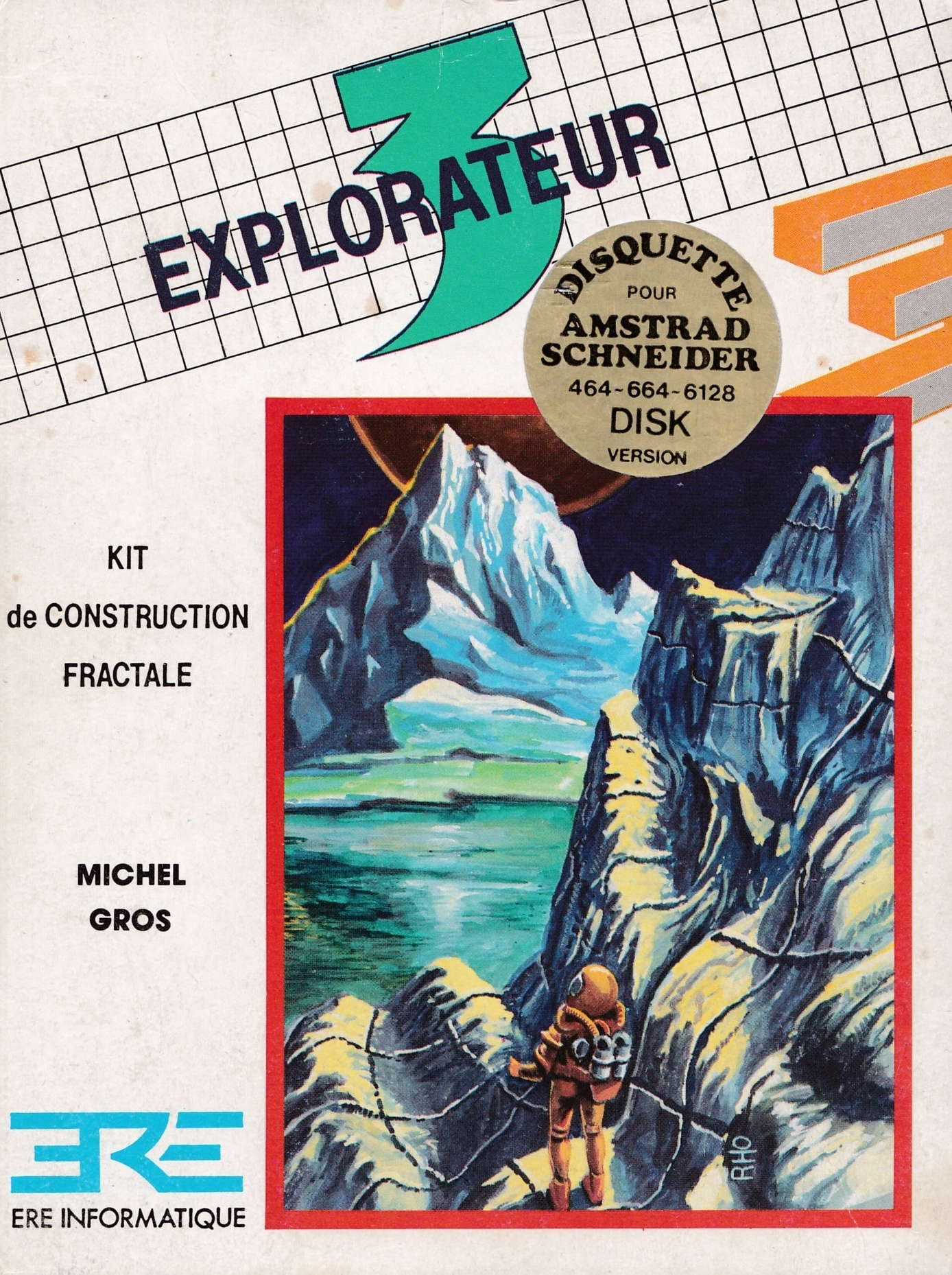 screenshot of the Amstrad CPC game Explorateur 3 by GameBase CPC