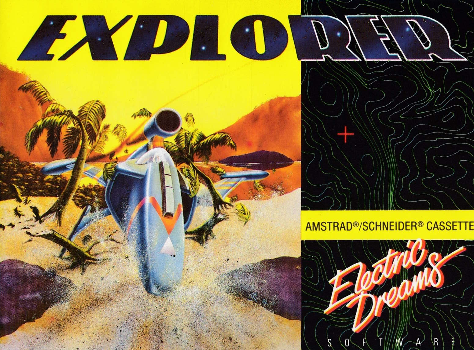 cover of the Amstrad CPC game Explorer  by GameBase CPC