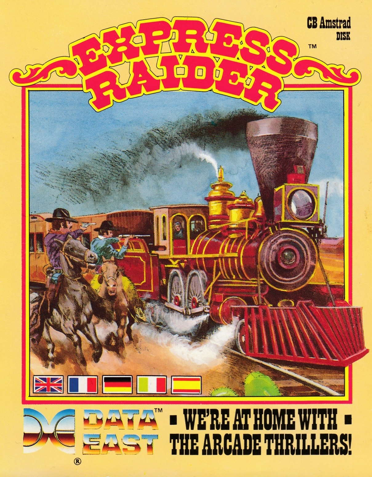 cover of the Amstrad CPC game Express Raider  by GameBase CPC