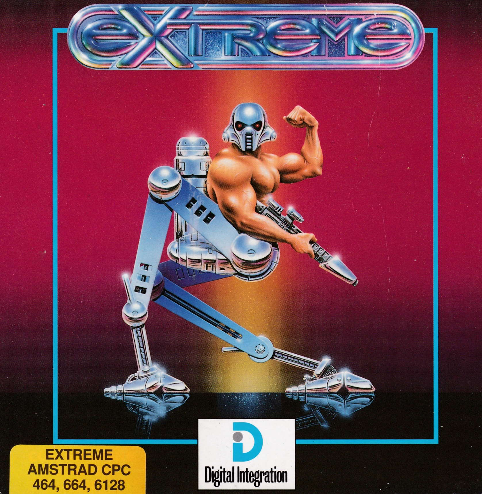 cover of the Amstrad CPC game Extreme  by GameBase CPC