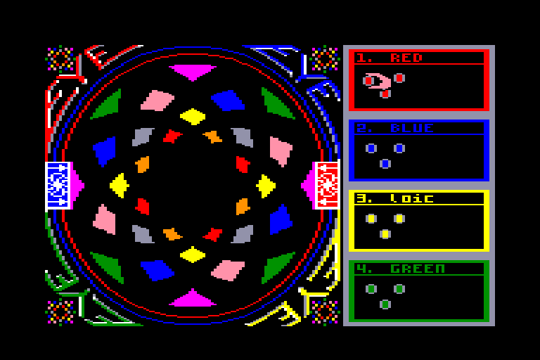 screenshot of the Amstrad CPC game Eye by GameBase CPC