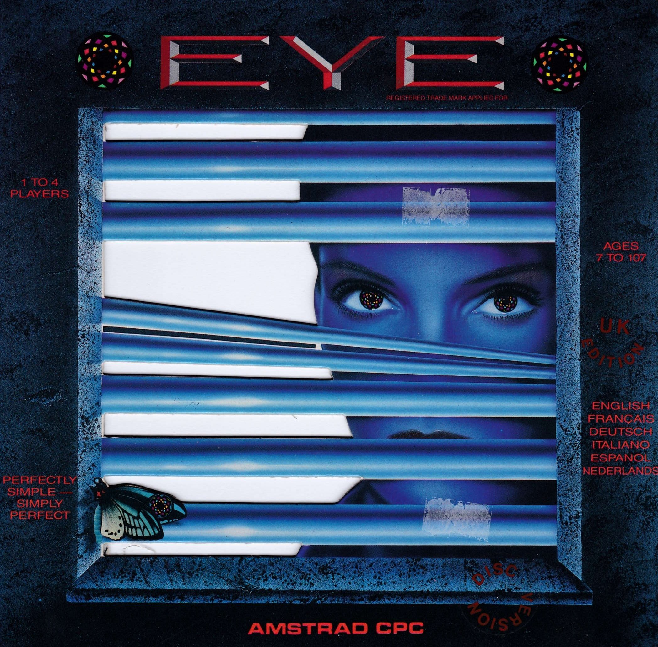 cover of the Amstrad CPC game Eye  by GameBase CPC