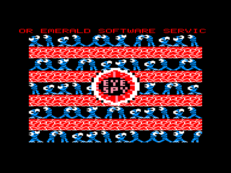 screenshot of the Amstrad CPC game Eye spy by GameBase CPC