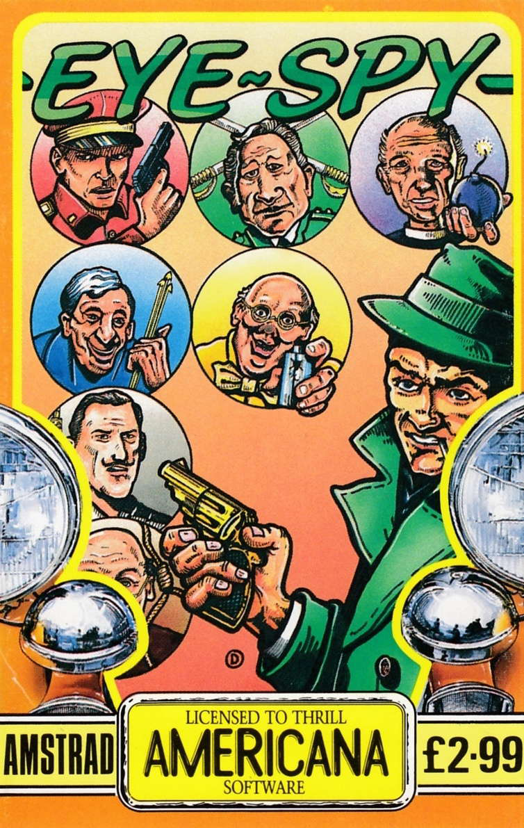 cover of the Amstrad CPC game Eye Spy  by GameBase CPC