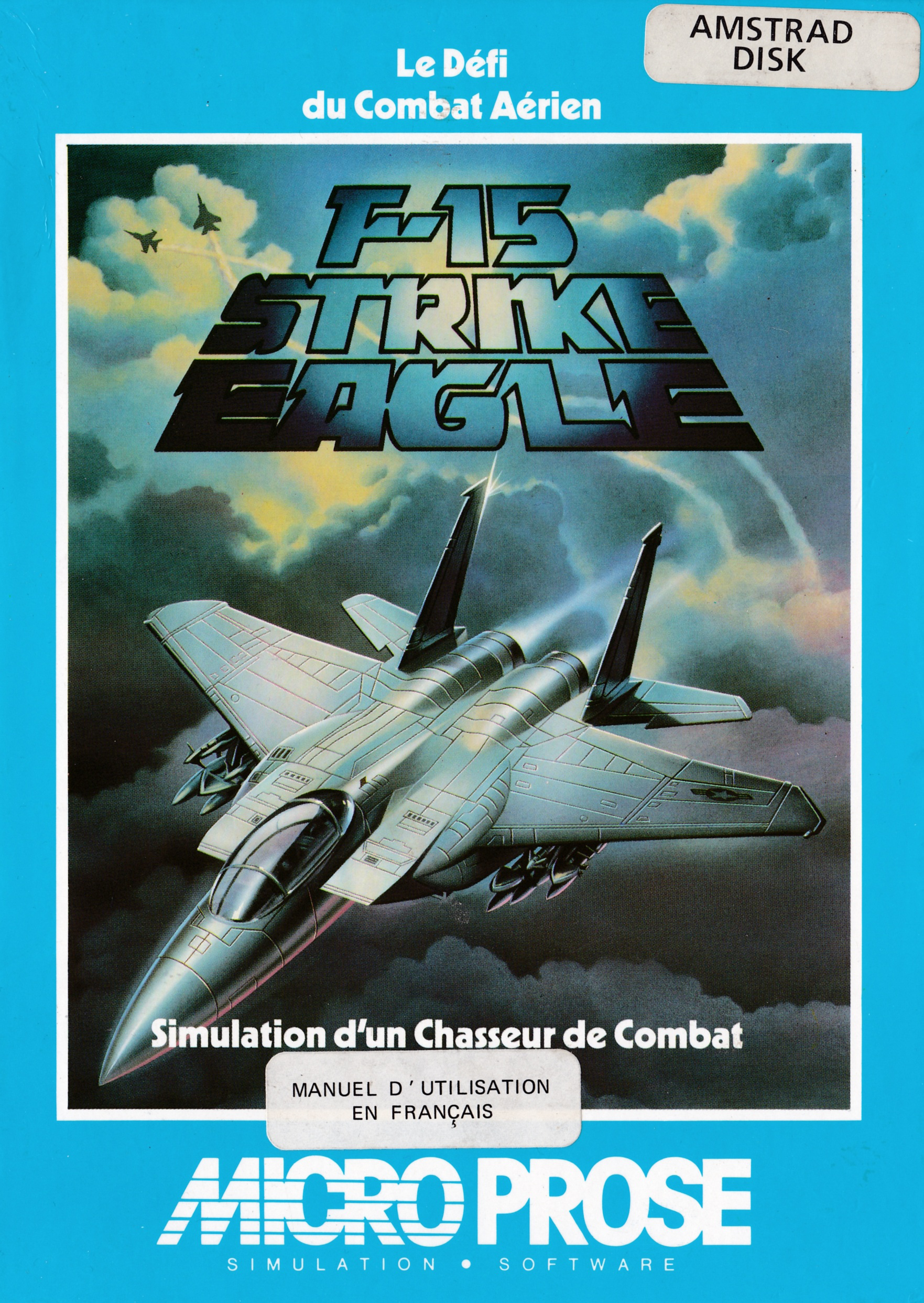 cover of the Amstrad CPC game F15 Strike Eagle  by GameBase CPC