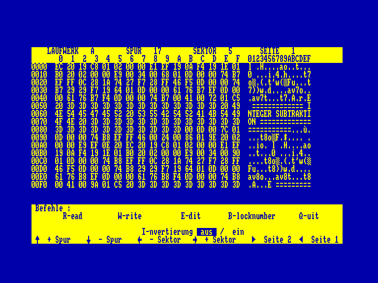 screenshot of the Amstrad CPC game FAst BAsic COMpiler  by GameBase CPC