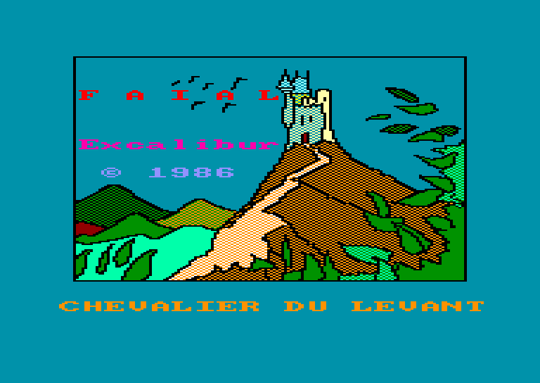 screenshot of the Amstrad CPC game Faial by GameBase CPC
