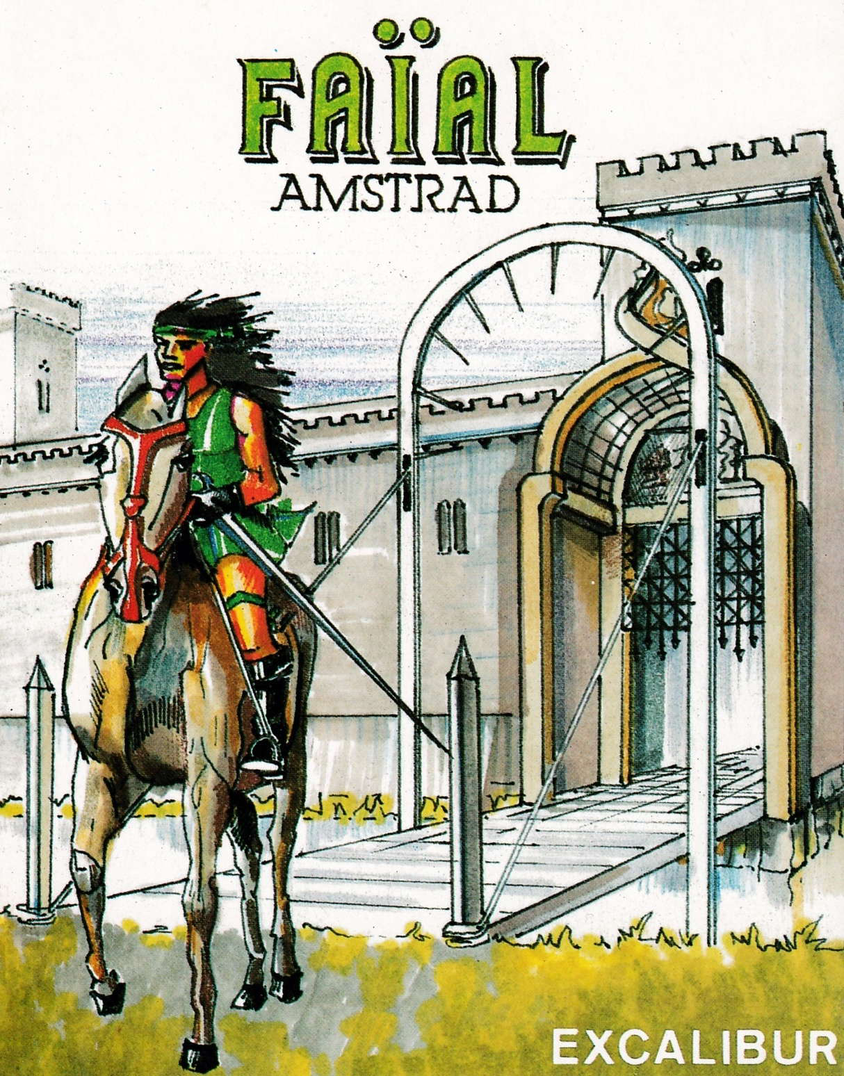 cover of the Amstrad CPC game Faial  by GameBase CPC