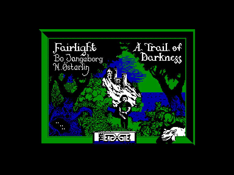 screenshot of the Amstrad CPC game Fairlight II: a trail of darkness by GameBase CPC