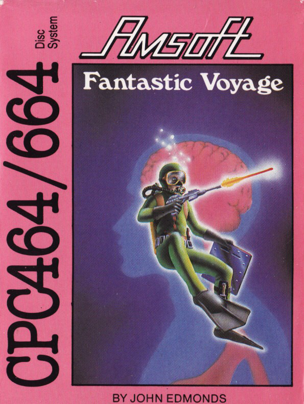 screenshot of the Amstrad CPC game Fantastic Voyage (the) by GameBase CPC