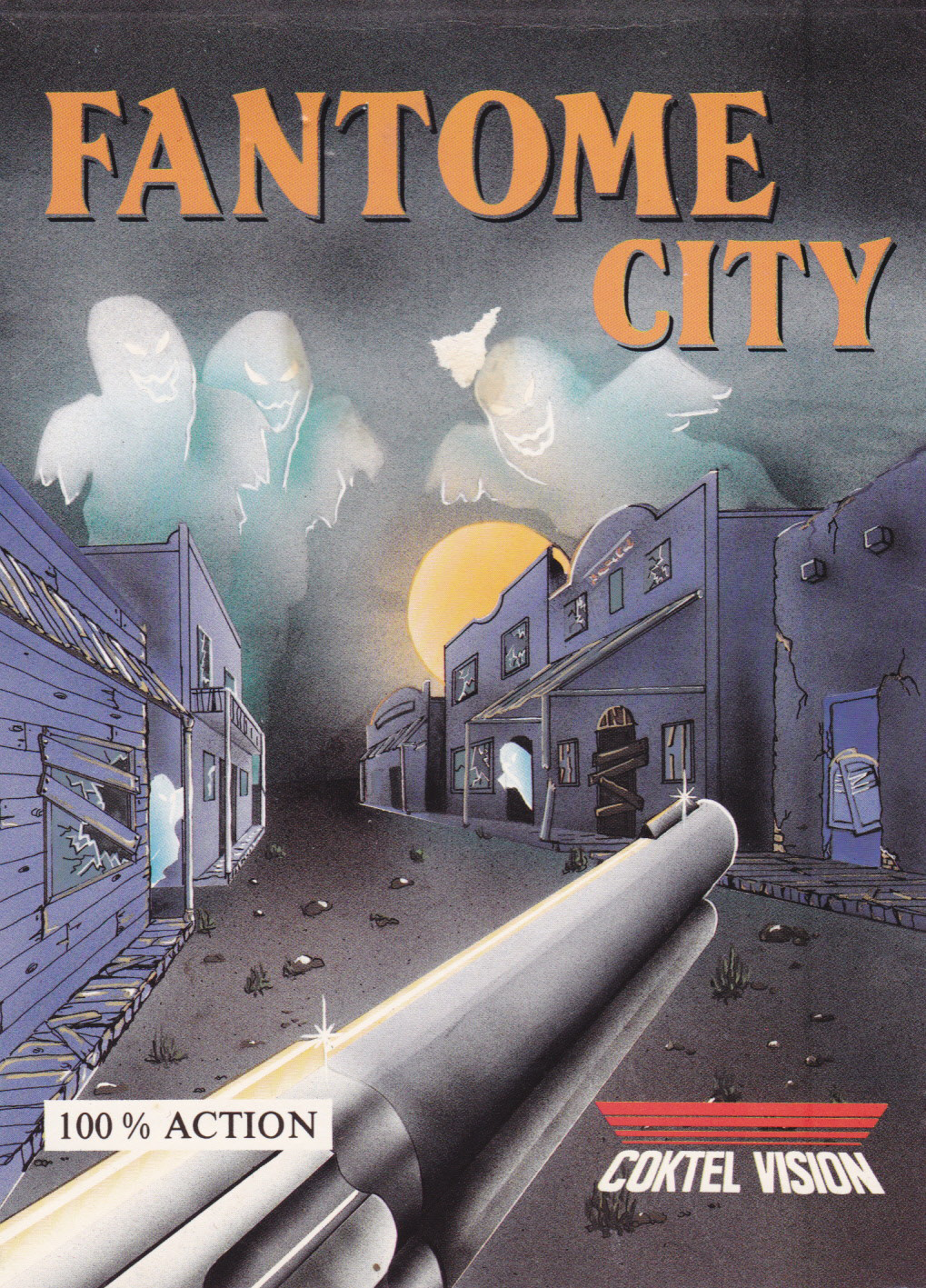 cover of the Amstrad CPC game Fantome City  by GameBase CPC