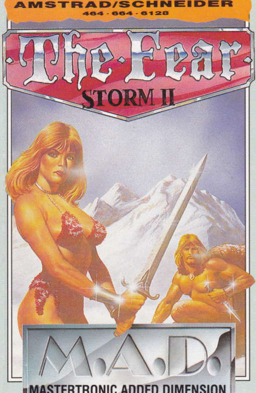 screenshot of the Amstrad CPC game Storm II by GameBase CPC
