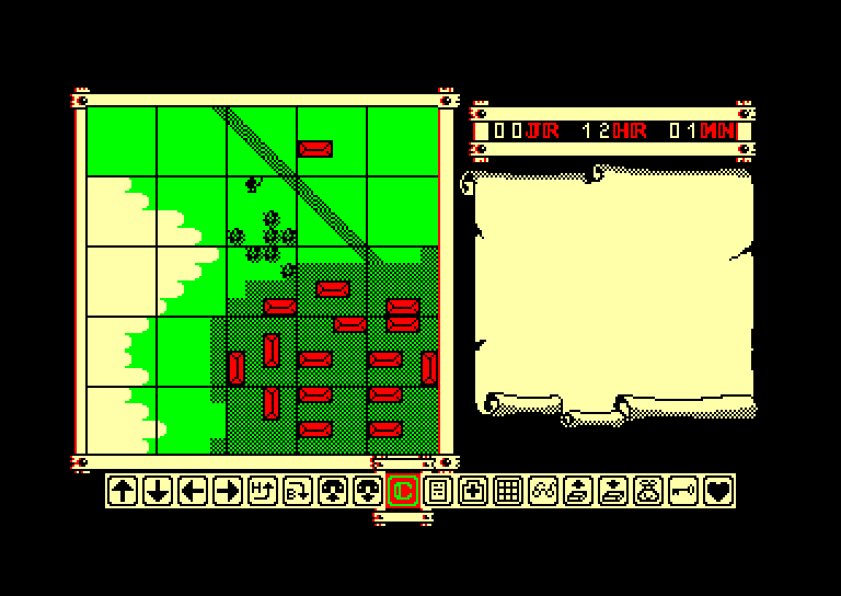 screenshot of the Amstrad CPC game Fer & Flamme by GameBase CPC
